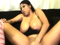 Brunette with big tits live webcam