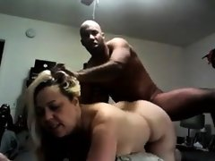 Bbw fucked from behind by big black cock