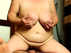 Fat mature sandra loves facesitting on..