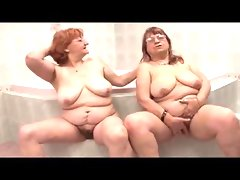 Mature bbws making out