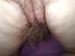 Wife real hairy pussy, asshole,..