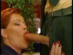 German mature bbw kira red fucked by..