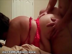 Bbw amateur milf riding husbands cock