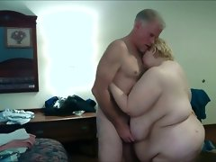 Saggy huge titties getting slapped my..