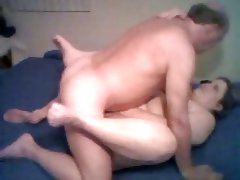 Fat couple creampie