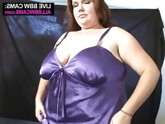 Amazing bbw and bald guy doing it..