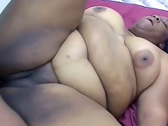 Fat black cocksucker is flexible..